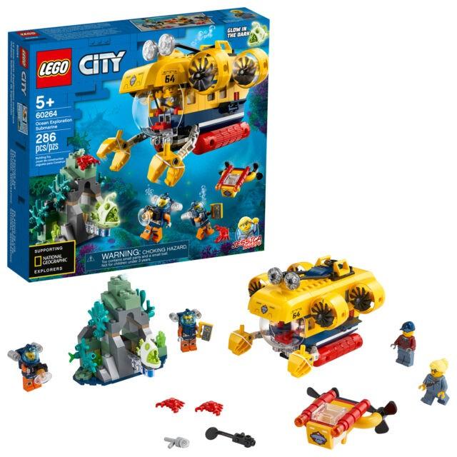 Lego City Submarino de Exploração do Oceano - Lego 60264