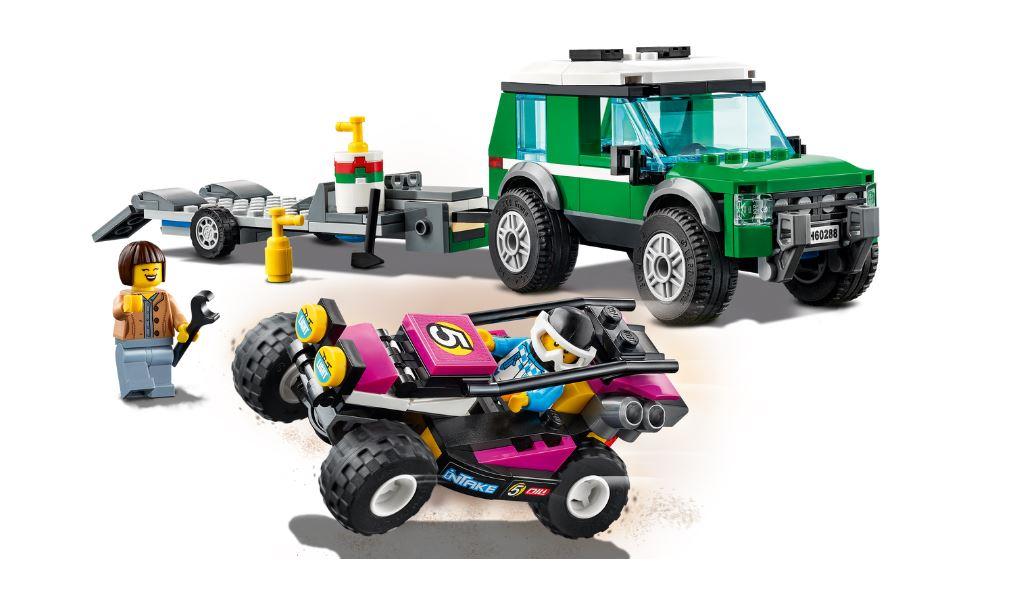 Lego City Transportador de Buggy de Corrida - Lego 60288