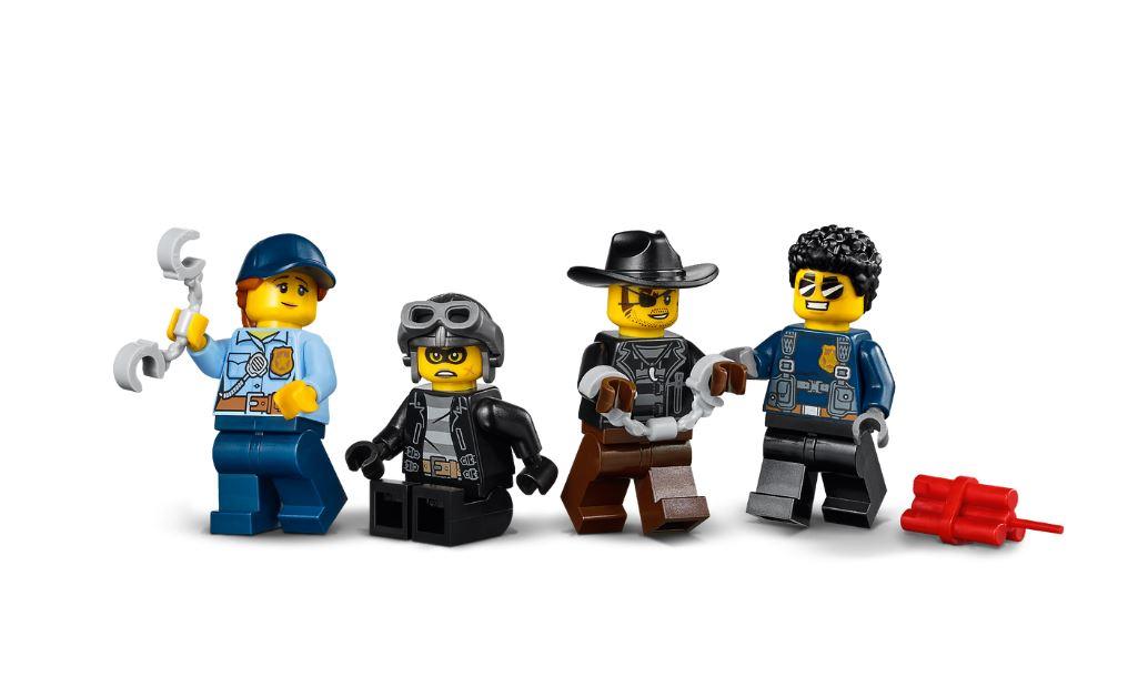 Lego City Transporte de Prisioneiros da Polícia - Lego 60276