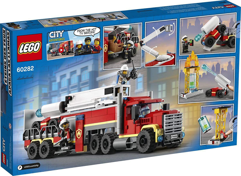 Lego City Unidade de Controle de Incêndio - Lego 60282
