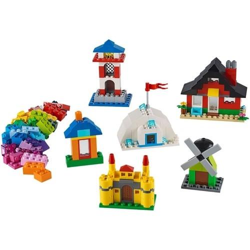 Lego Classic Blocos e Casas com 270 Peças - 11008