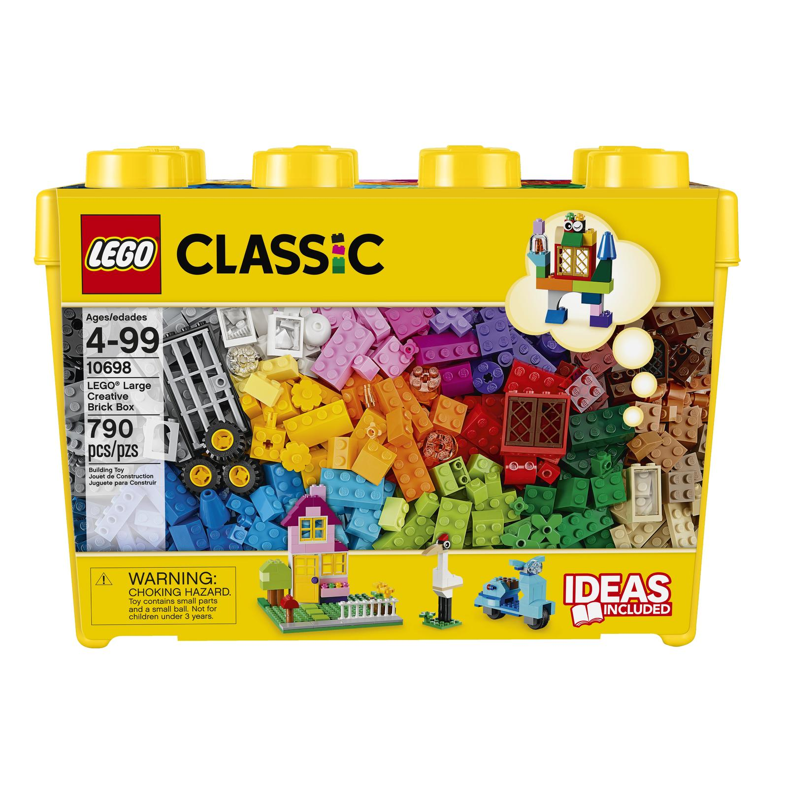 Lego Classic Caixa Grande De Pecas Criativas 10698