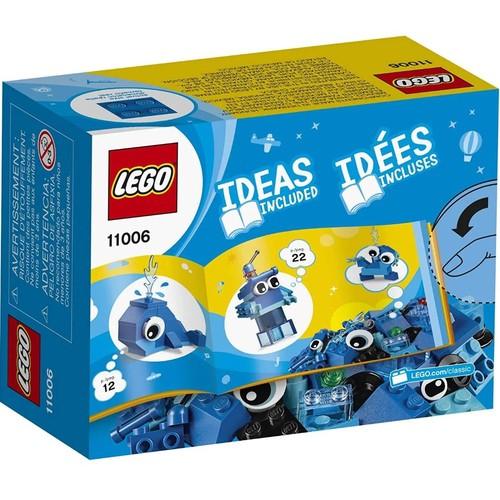 Lego Classic Peças Azuis Criativas - 11006