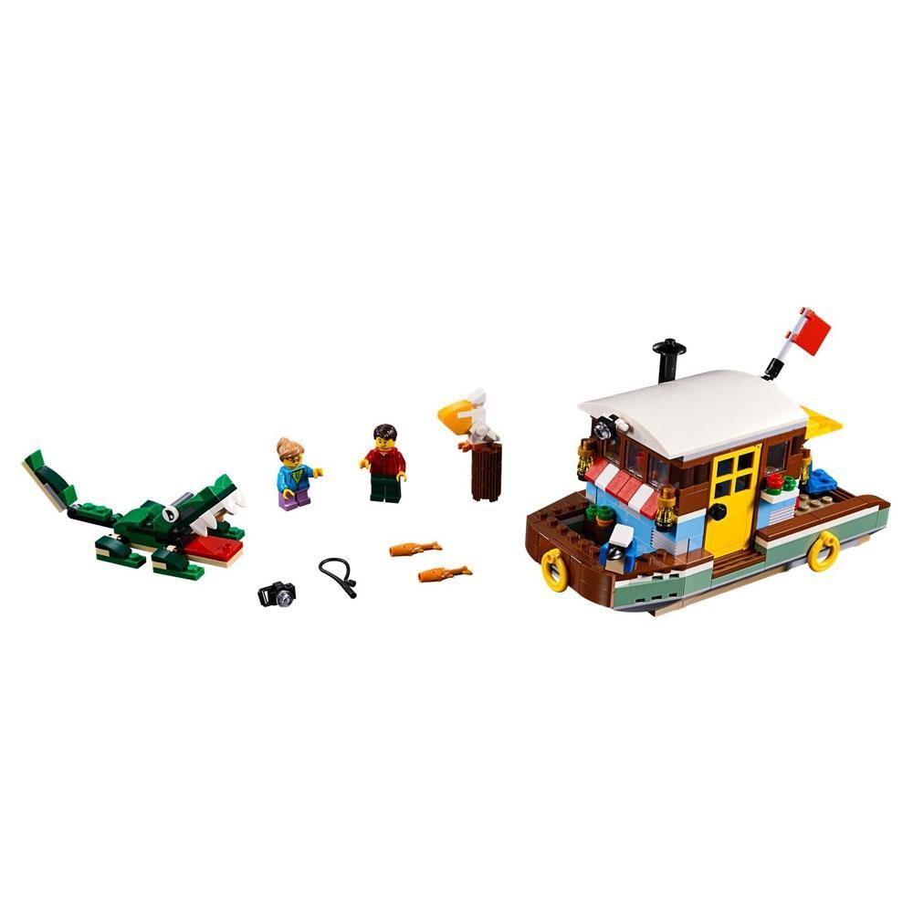 Lego Creator 3 em 1 Casa Flutuante Riverside - Lego 31093