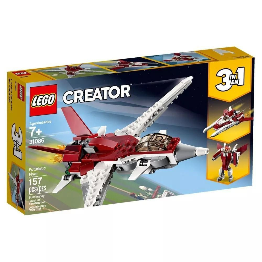 Lego Creator Avião Futurista 31086
