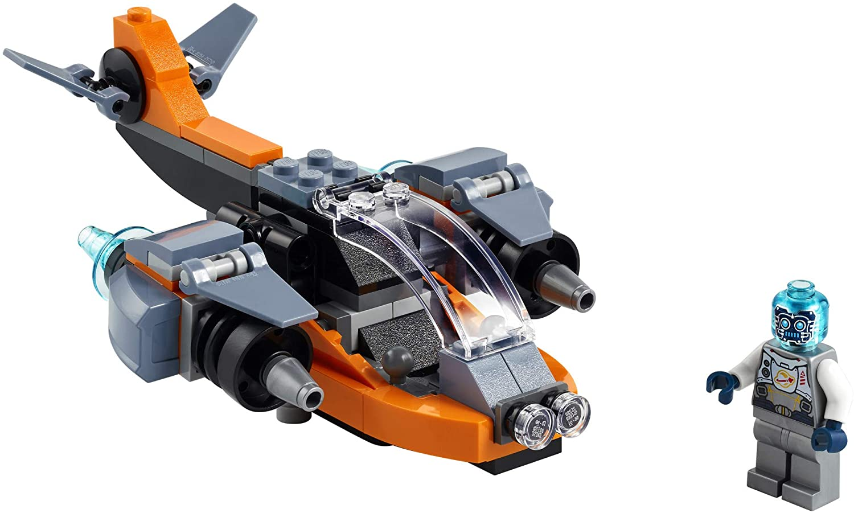 Lego Creator Ciberdrone - Lego 31111