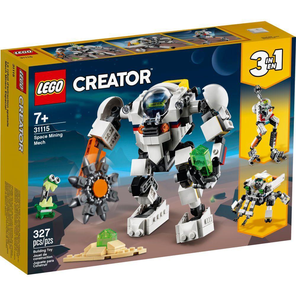 Lego Creator Space Mining Mech - Lego 31115