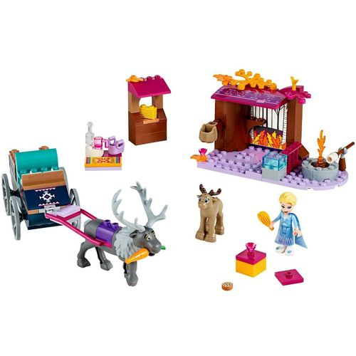 Lego Disney Frozen 2 A Aventura Em Caravana Da Elsa 41166