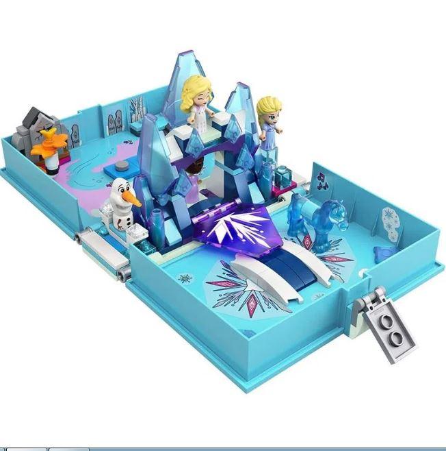 Lego Disney O Livro de Aventuras de Elsa e Nokk - Lego 43189