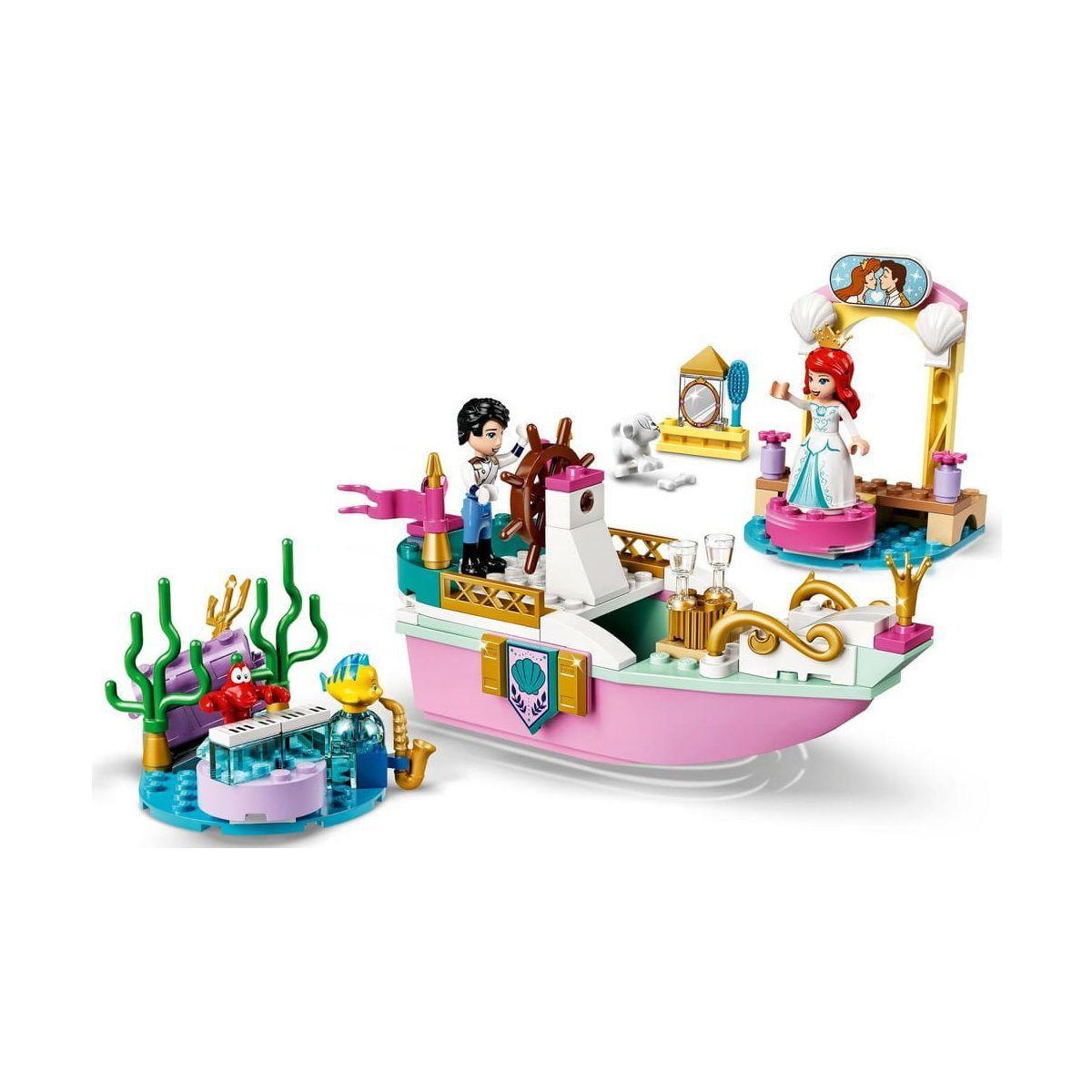 Lego Disney Princess O Barco de Cerimônia de Ariel - Lego 43191