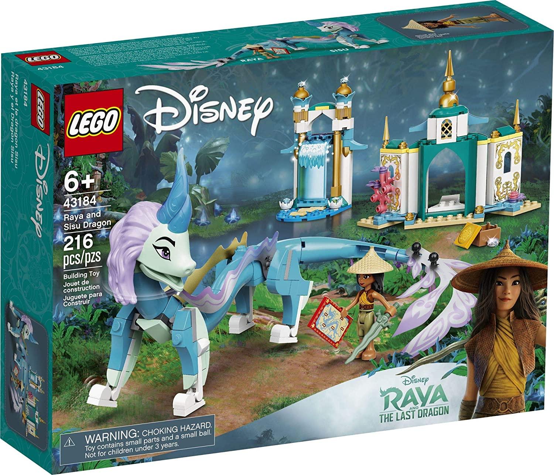 Lego Disney Raya e o Último Dragão - Lego 43184