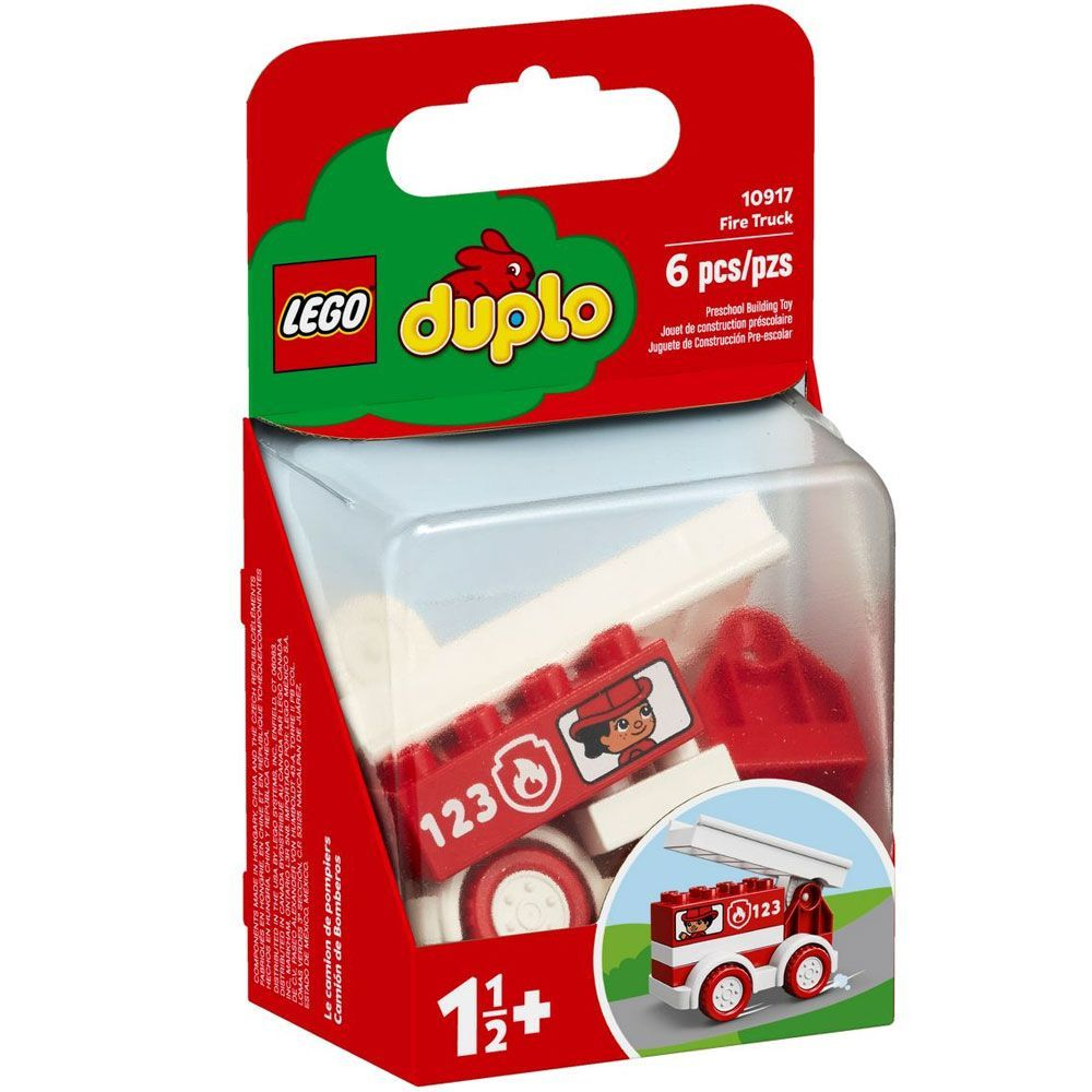 Lego Duplo Caminhão dos Bombeiros - 10917