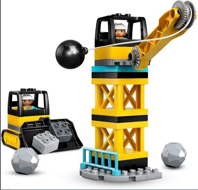 Lego Duplo Demolição com Bola Destruidora - Lego 10932