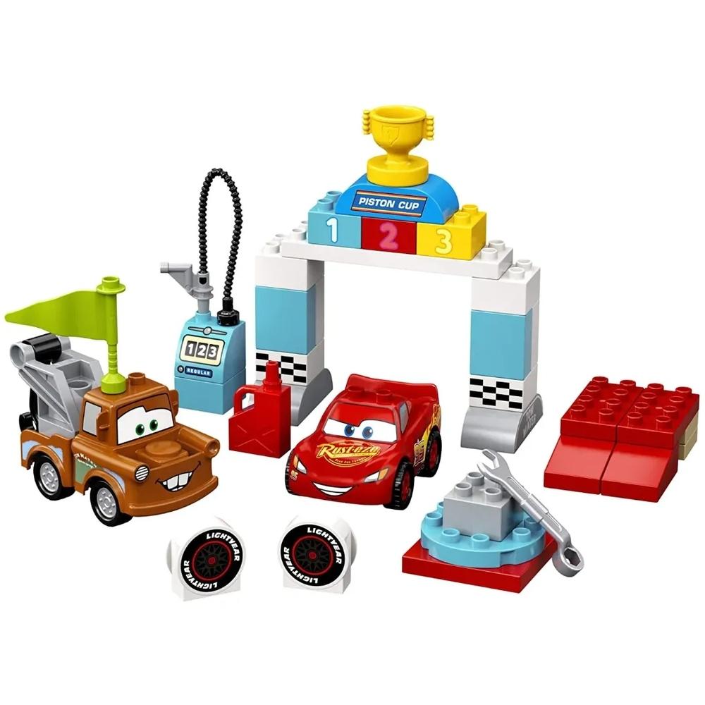 Lego Duplo Dia de corrida de Relâmpago McQueen - Lego 10924