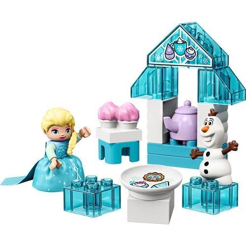 Lego Duplo Disney Frozen Festa Do Cha Da Elsa E Olaf - 10920