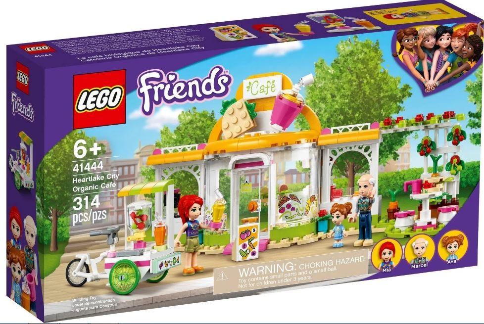 Lego Friends Café Orgânico de Heartlake City - Lego 41444