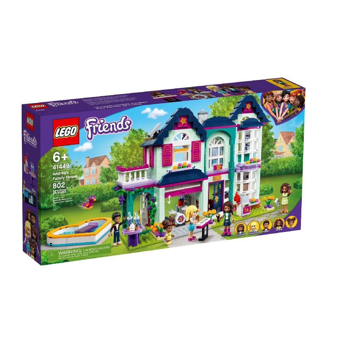 Lego Friends Casa da Família de Andrea -  Lego 41449