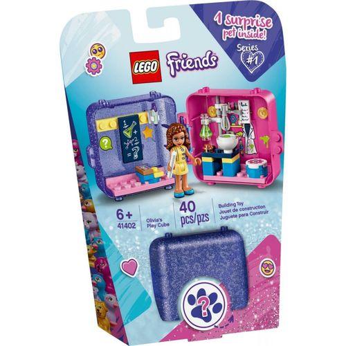 Lego Friends Cubo de Brincar da Olivia com 40 Peças - 41402