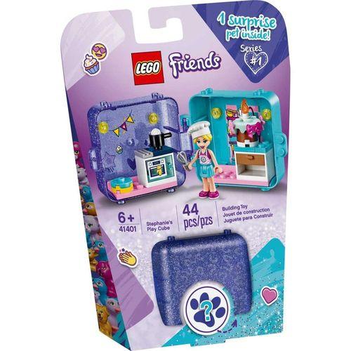 Lego Friends Cubo de Brincar da Stephanie com 44 Peças - 41401