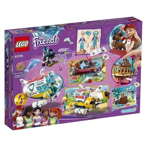 Lego Friends Missão De Resgate De Golfinhos 41378