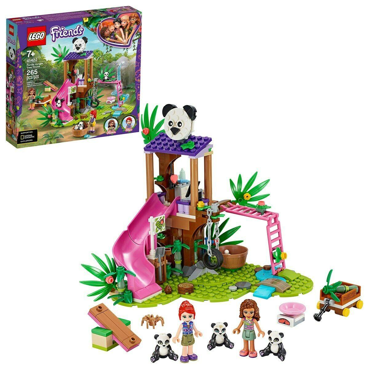 Lego Friends Panda Jungle Tree House - Lego 41422