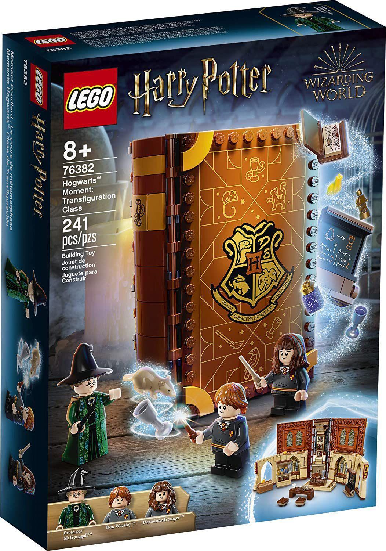 Lego Harry Potter Momento Hogwarts Aula de Transfiguração - Lego 76382