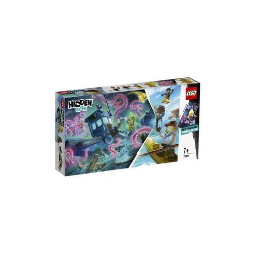 Lego Hidden Side Barco De Pesca De Camarão Naufragado 70419