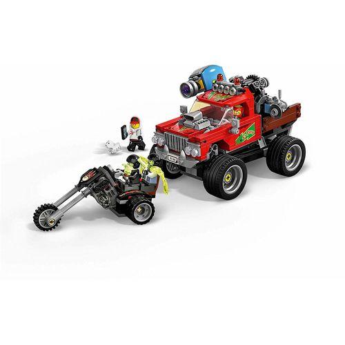 Lego Hidden Side O Caminhão De Acrobacias De El Fuego 70421