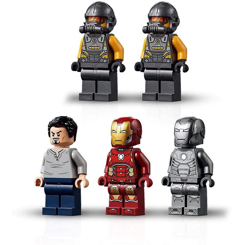 Lego Marvel Depósito de Armas do Homem de Ferro - Lego 76167