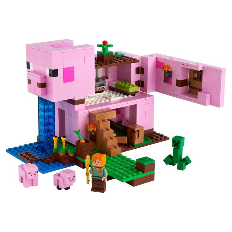 Lego Minecraft A Casa do Porco - Lego 21170