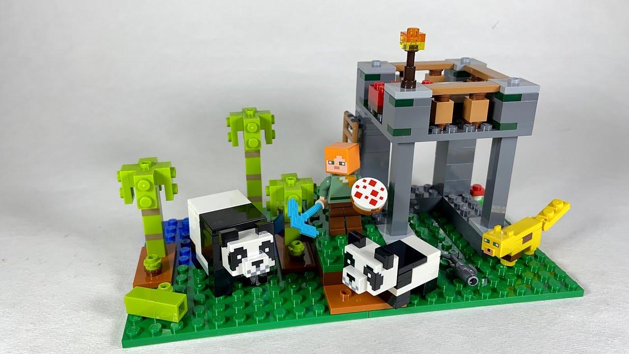 Lego Minecraft A Creche dos Pandas - 21158