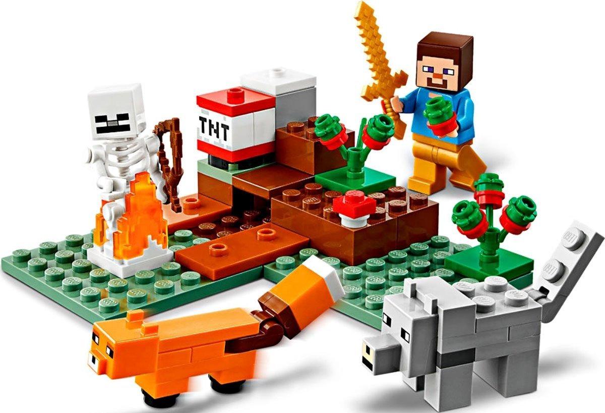 Lego Minecraft Aventura em Taiga - 21162