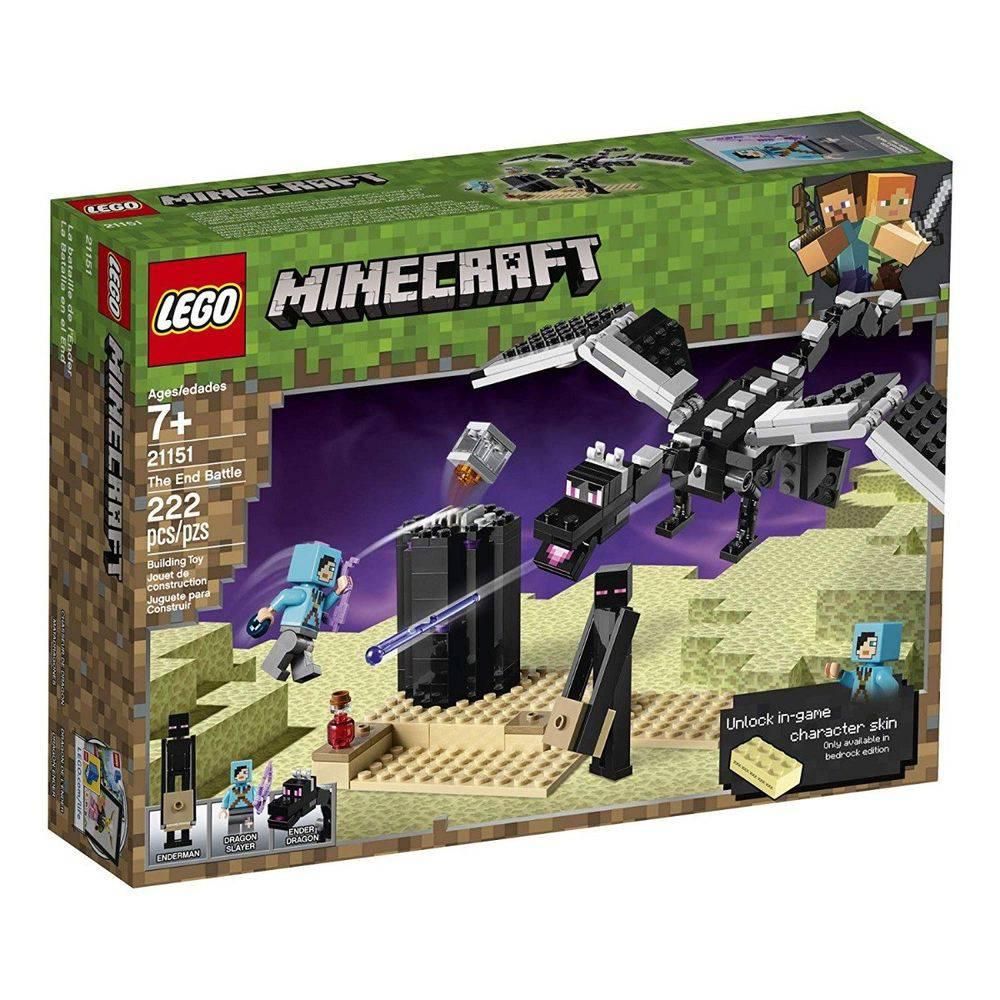 Lego Minecraft O Combate do Fim 21151