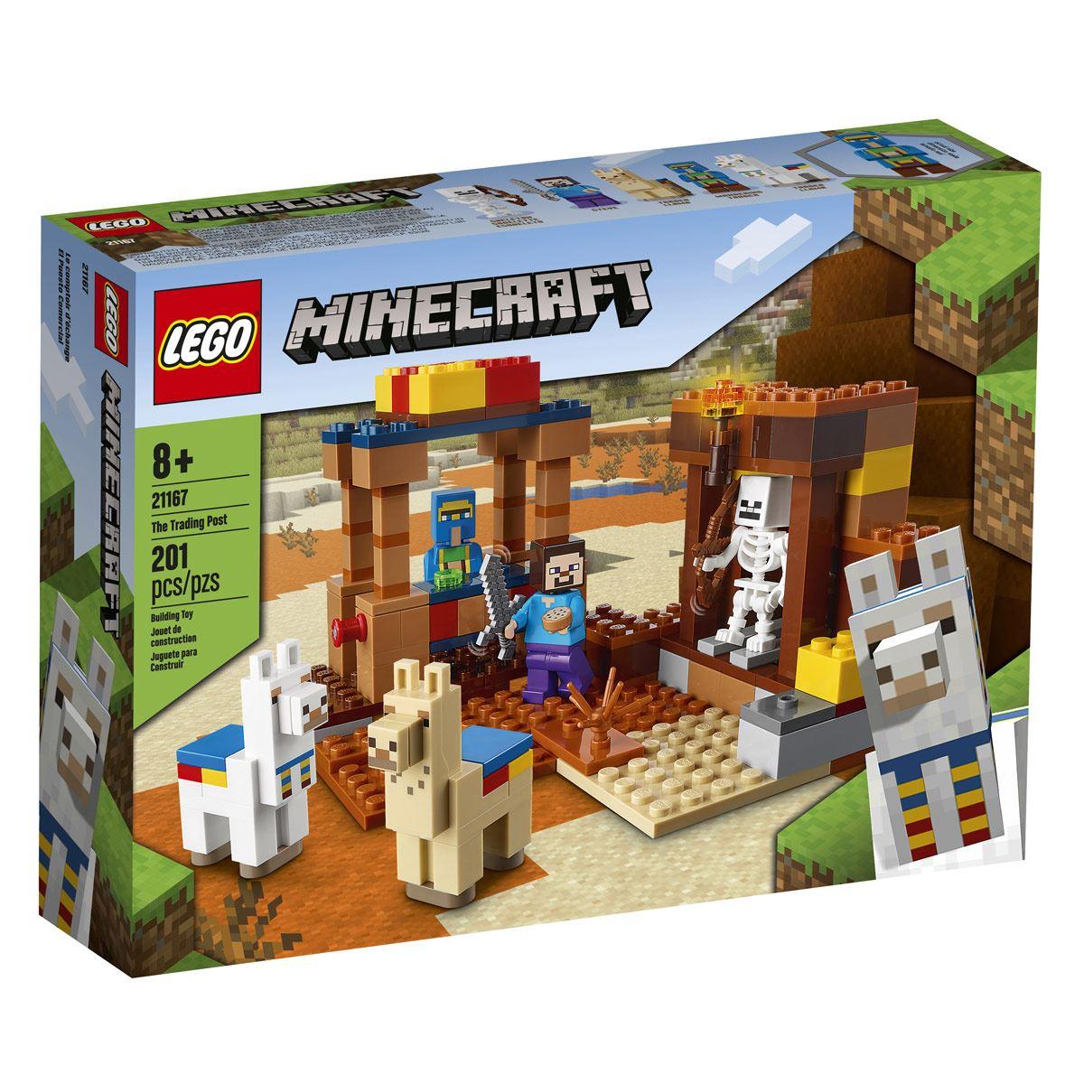 Lego Minecraft o Posto Comercial - Lego 21167