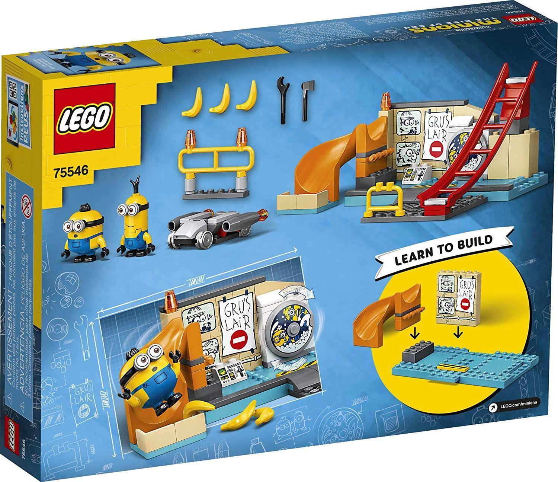 Lego Minions Os Minions No Laboratório de Gru - Lego 75546