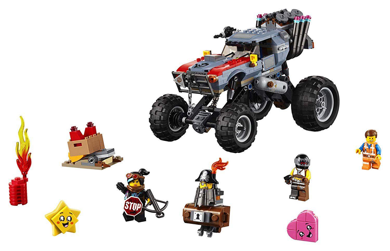 Lego Movie O Filme 2 Veículo De Fuga Do Emmet E Lucy - 70829
