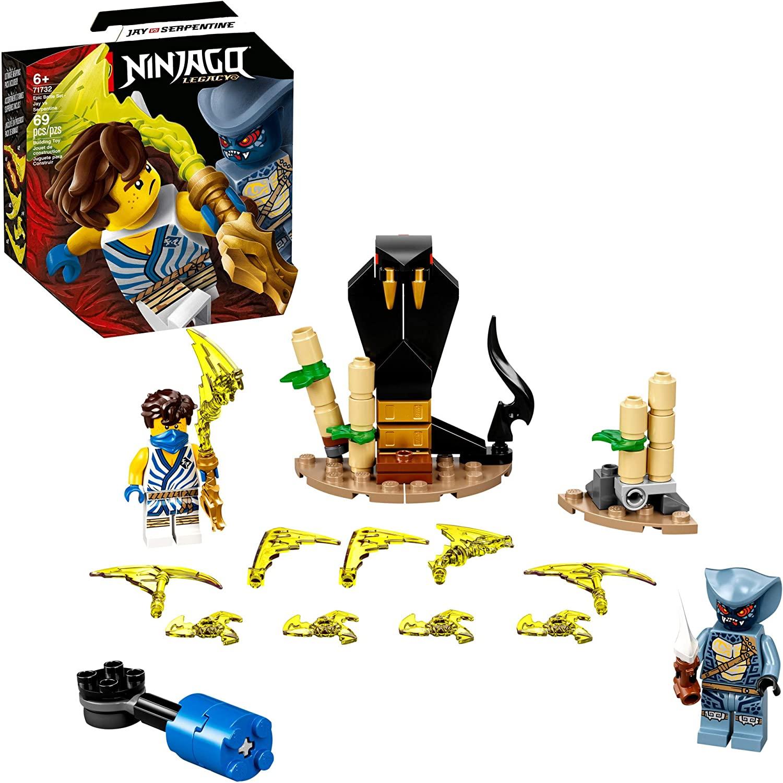 Lego Ninjago - Conjunto de Combate Épico Jay vs Serpentine - Lego 71732