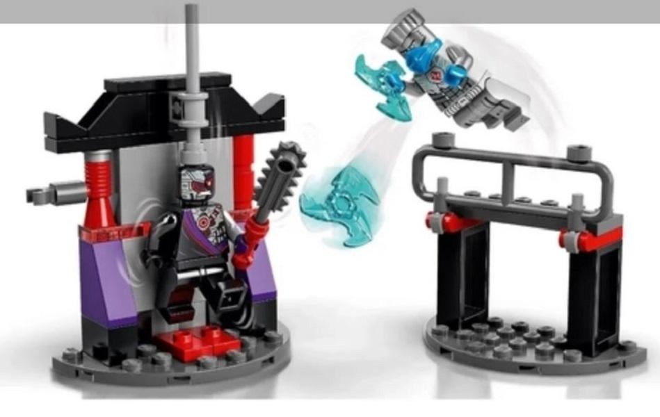 Lego Ninjago Conjunto de Combate Épico Zane vs Nindroid -  Lego 71731