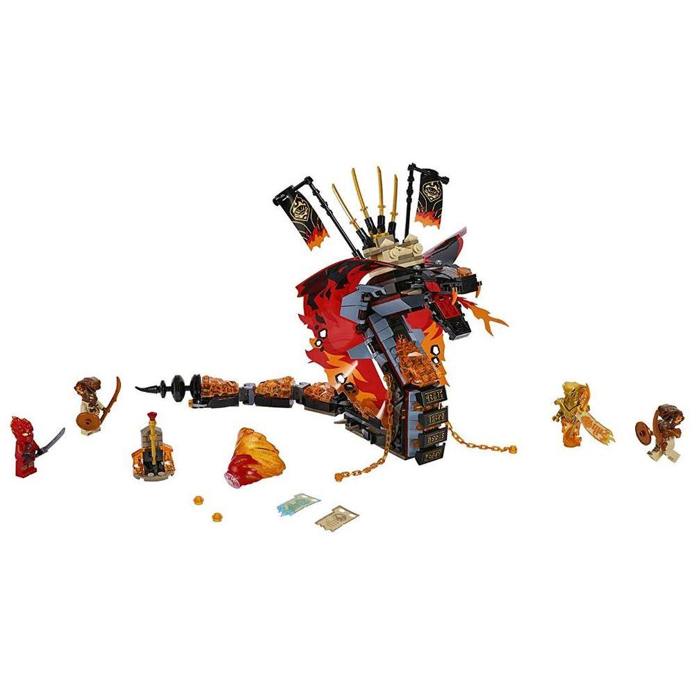 Lego Ninjago Dente de Fogo 70674
