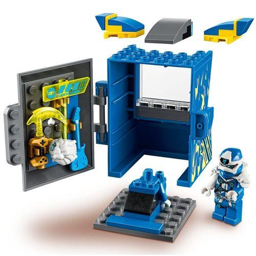 Lego Ninjago Jay Avatar e Pod de Arcade com 47 Peças - 71715