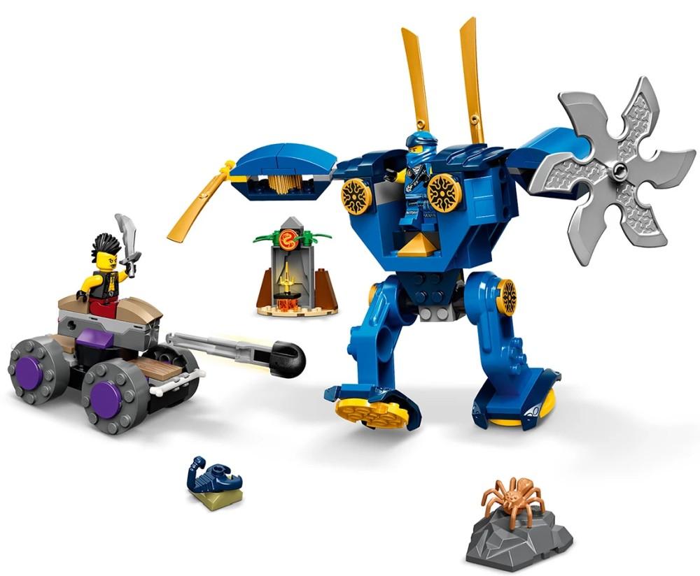 Lego Ninjago Jay s Electro Mech - Lego 71740