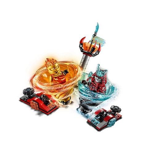 Lego Ninjago Lançador Spinjitzu Slam Kai Fs Vs Samurai 70684