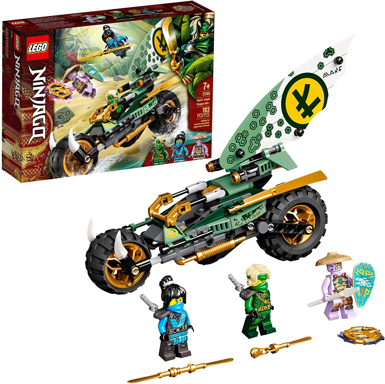Lego Ninjago Lloyds Jungle Chopper Bike - Lego 71745