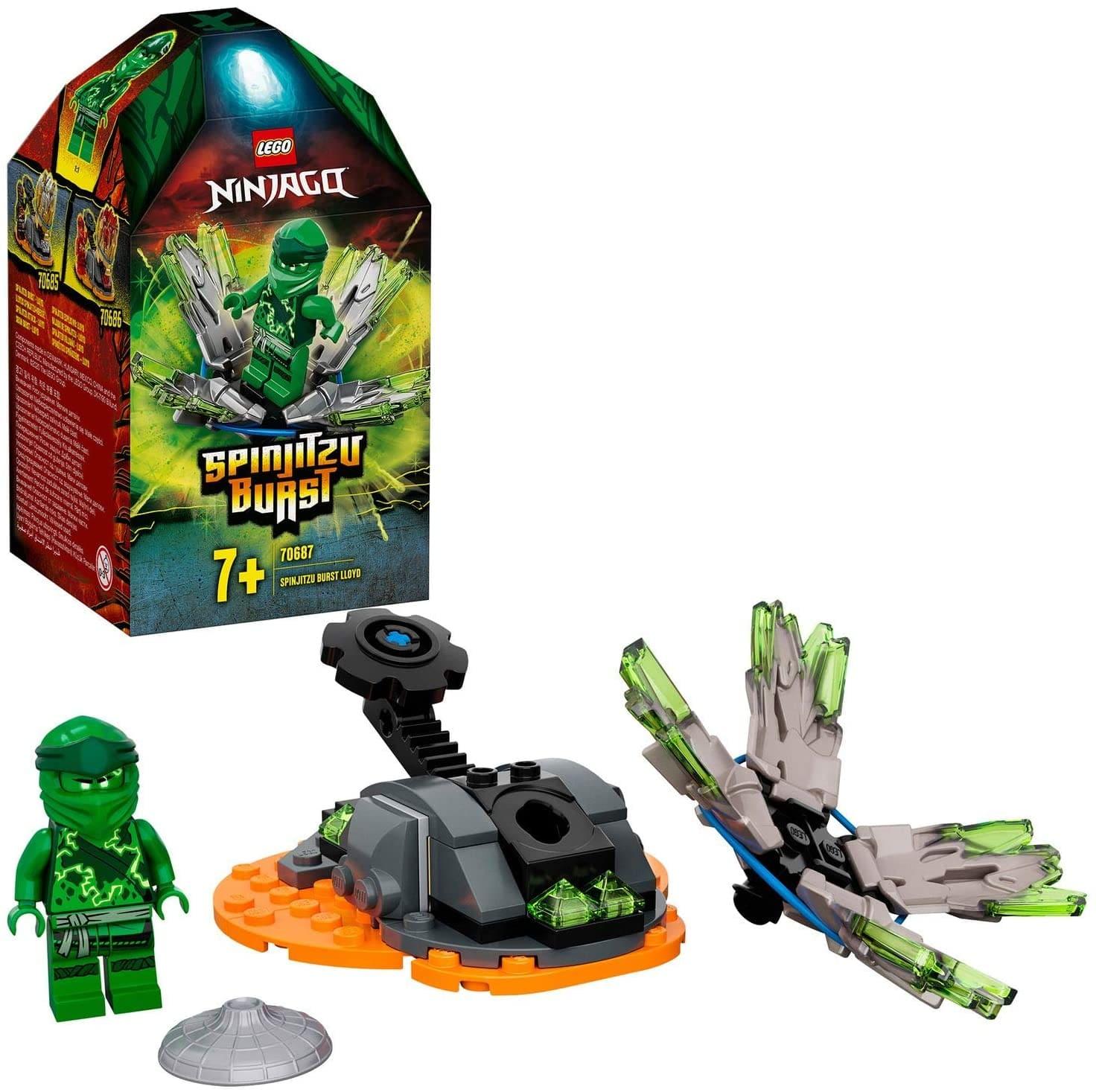 Lego Ninjago Rajada De Spinjitzu 48 Peças - Lego 70687