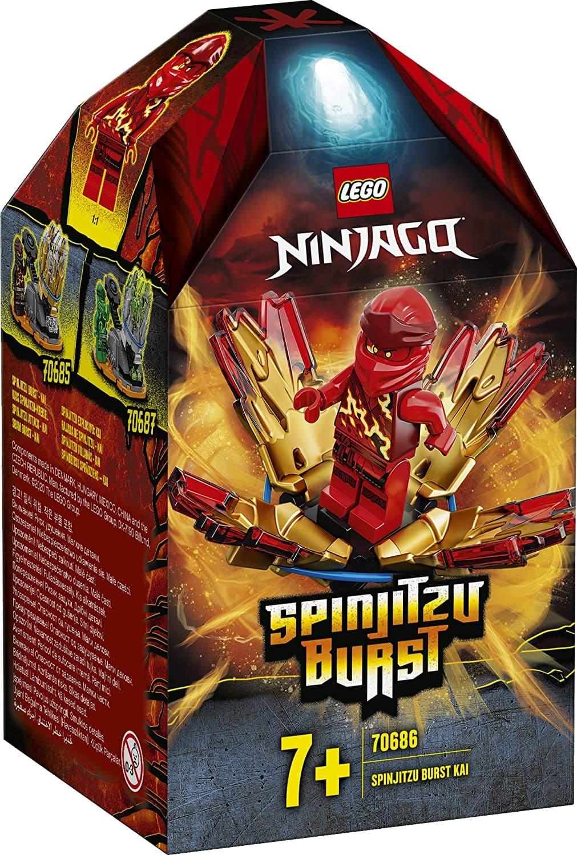 Lego Ninjago Rajada de Spinjitzu - Lego 70686
