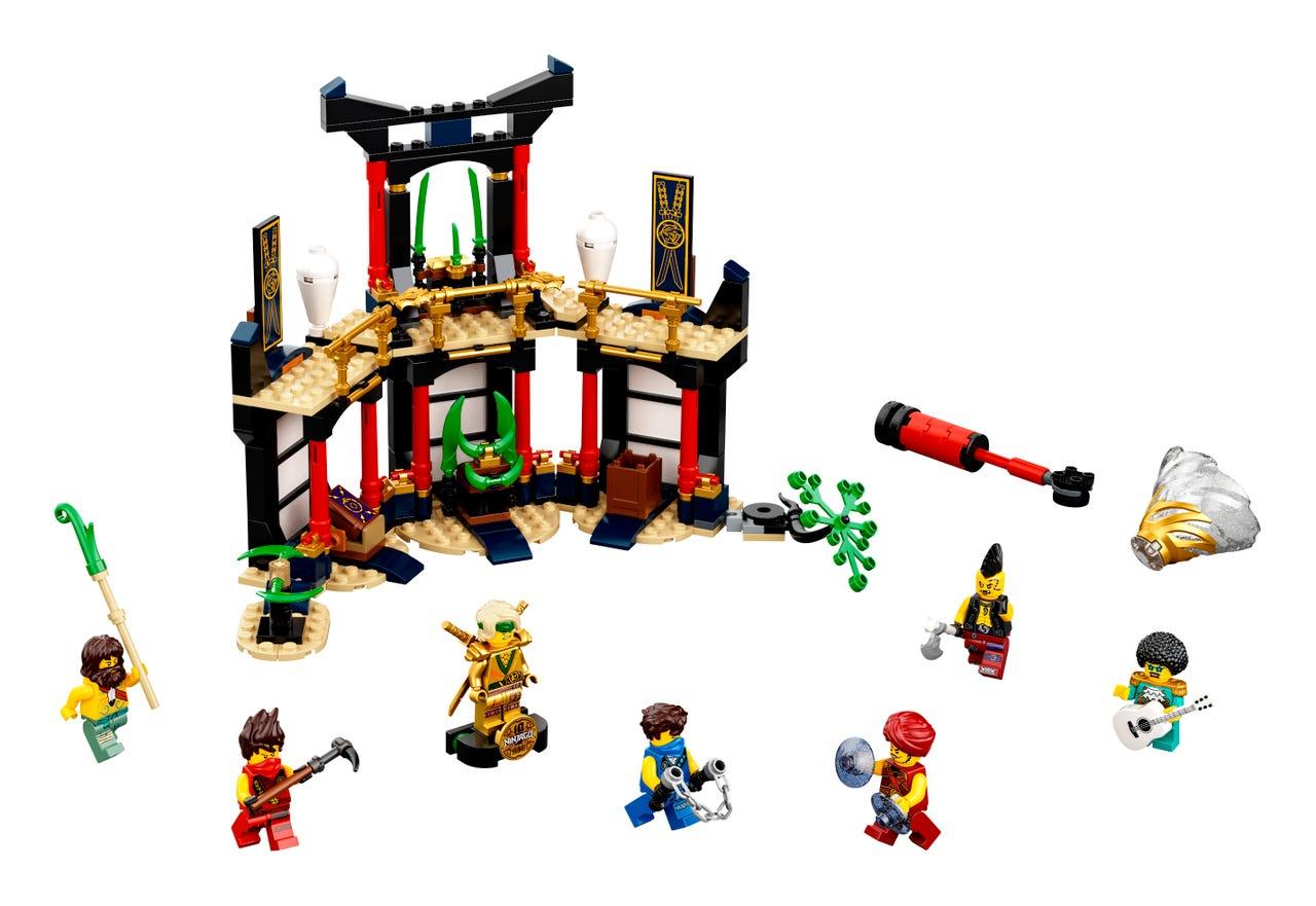 Lego Ninjago Torneio de Elementos - Lego 71735