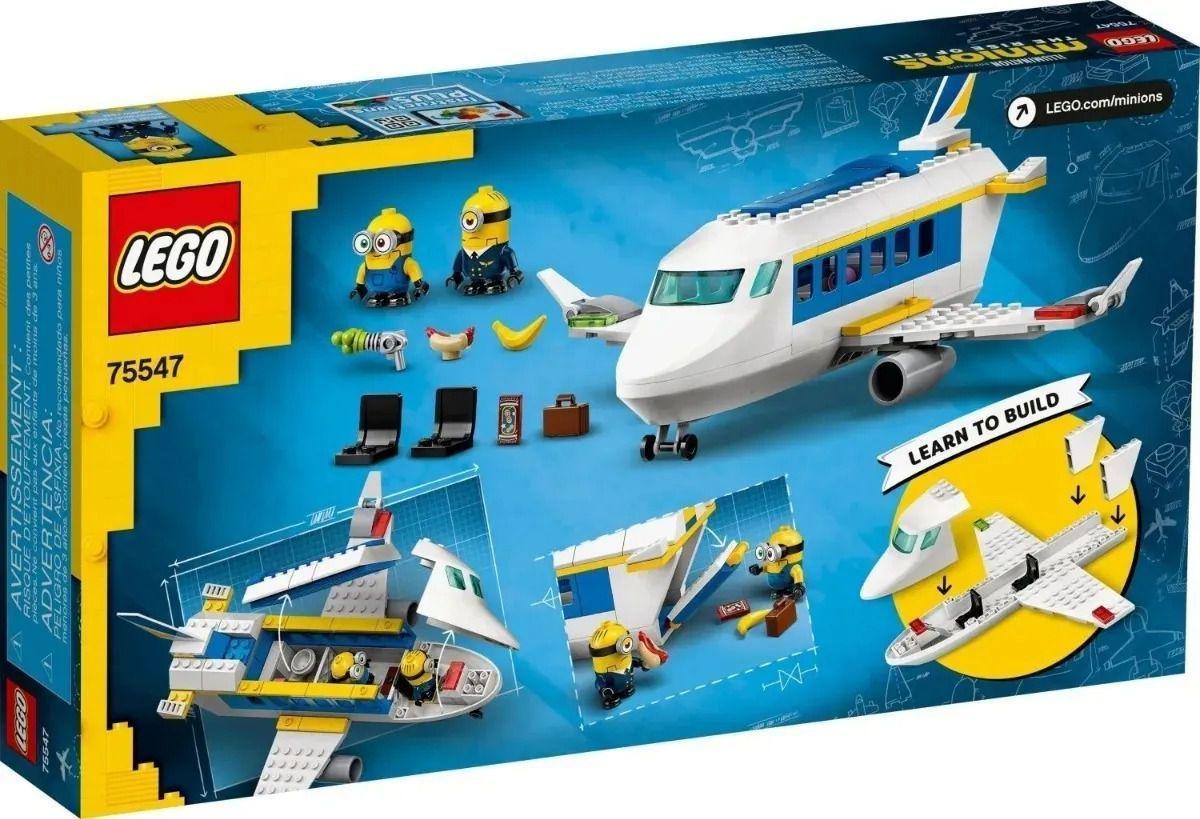 Lego Piloto Minion Recebendo Treinamento - Lego 75547