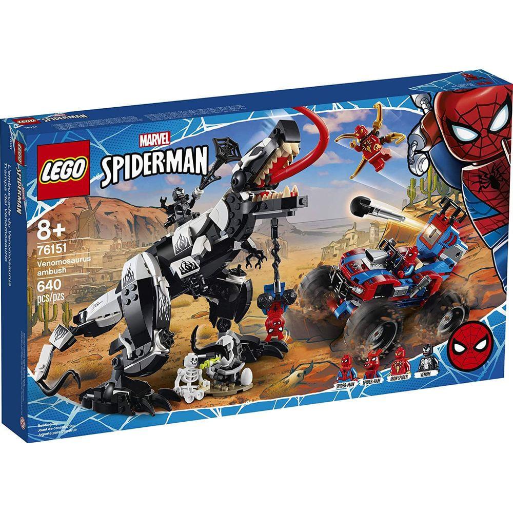 Lego Spider Man Emboscada a Venomosaurus - Lego  76151