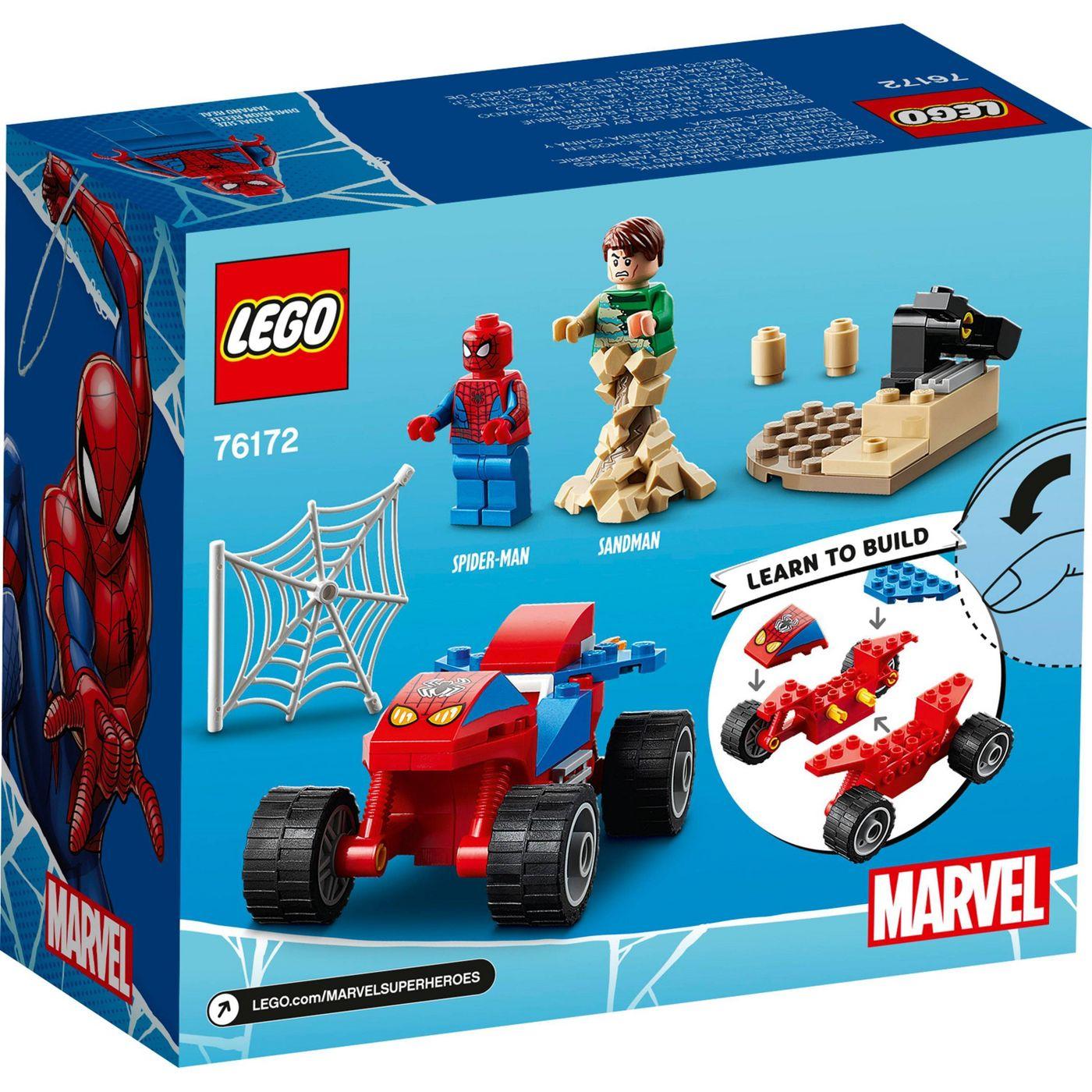 Lego SpiderMan Confronto Homem-Aranha e Sandeman - Lego 76172