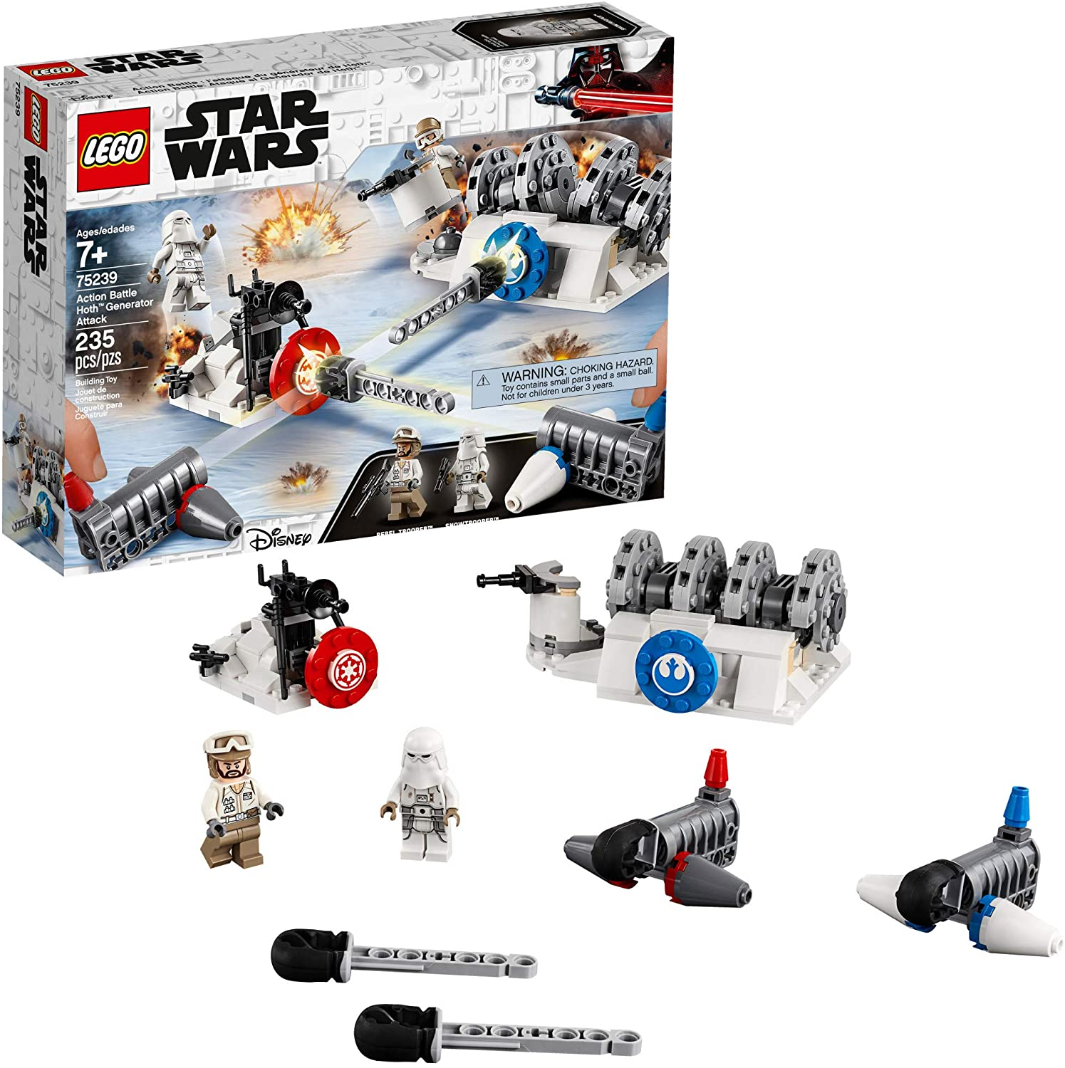Lego Star Wars Ataque Gerador Action Battle Hoth - Lego 75239